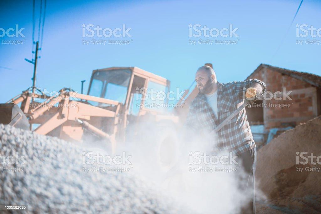 Dirty Jobs stock photo