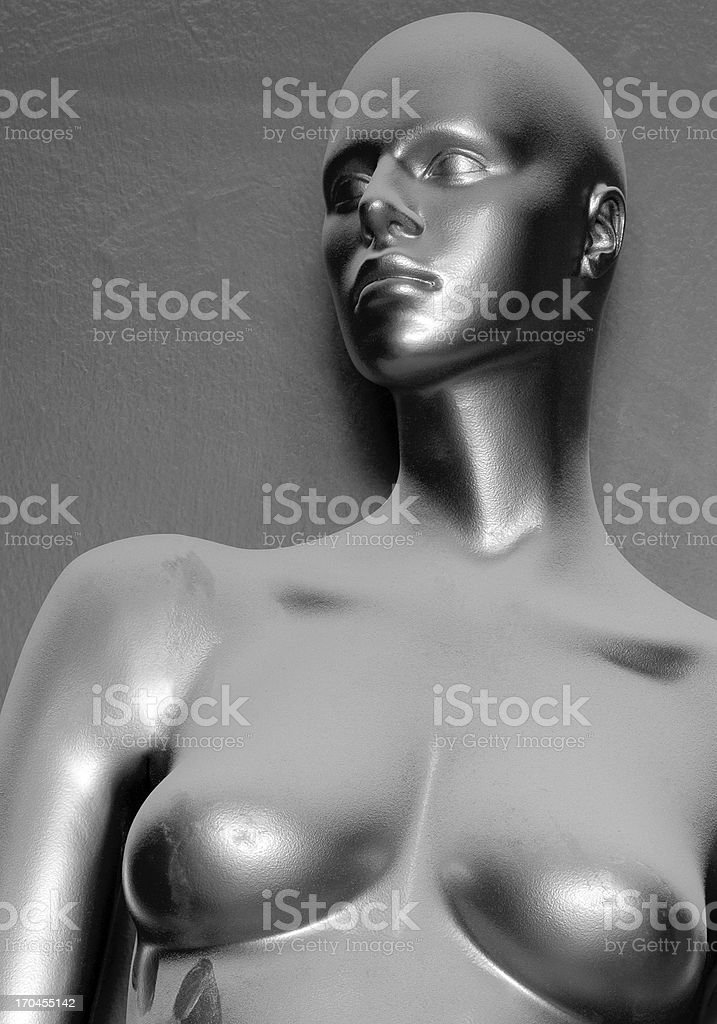 Dirty Model royalty-free stock photo