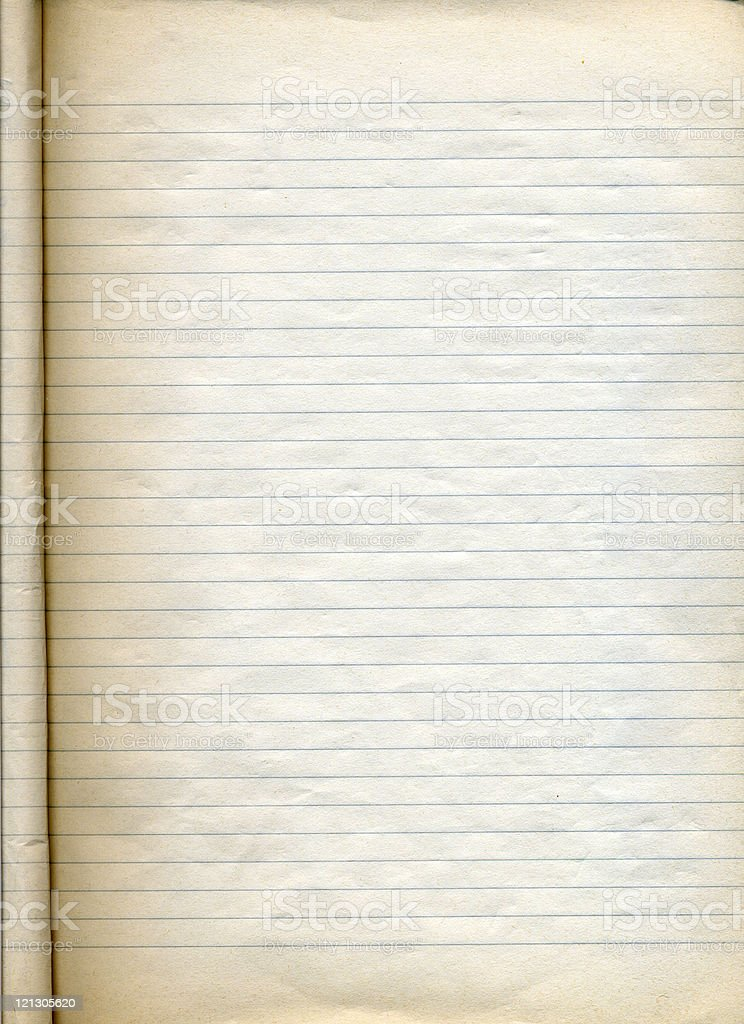 dirty note pad royalty-free stock photo