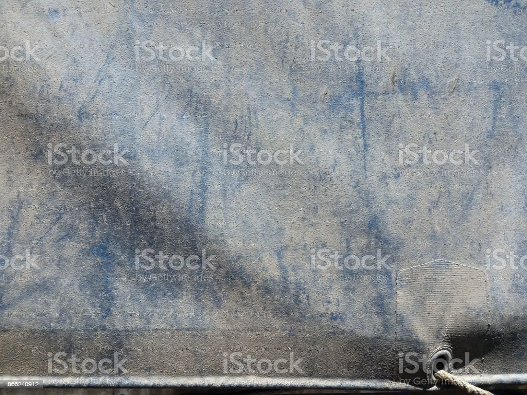 dirty old canvas covered truck on truck for transportation background stock photo
