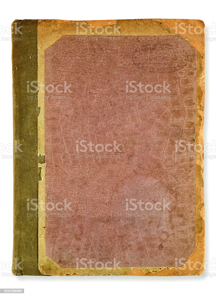 dirty old cover stock photo
