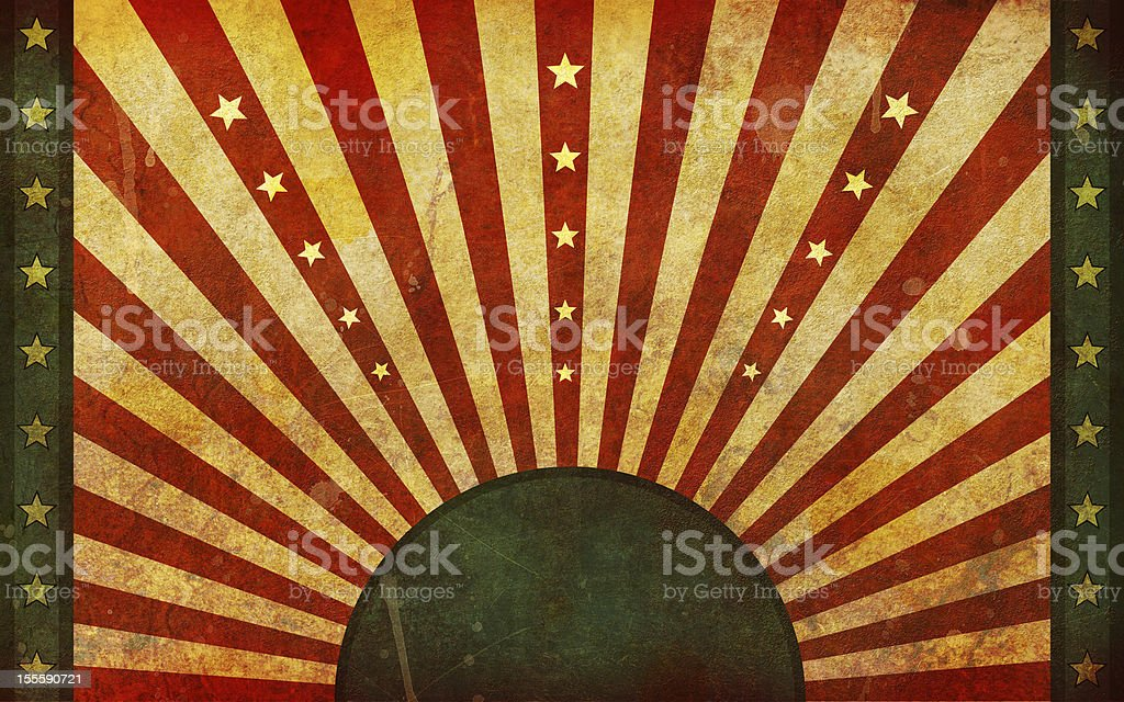 Dirty, Old, Grunge Flag Graphic Design royalty-free stock photo