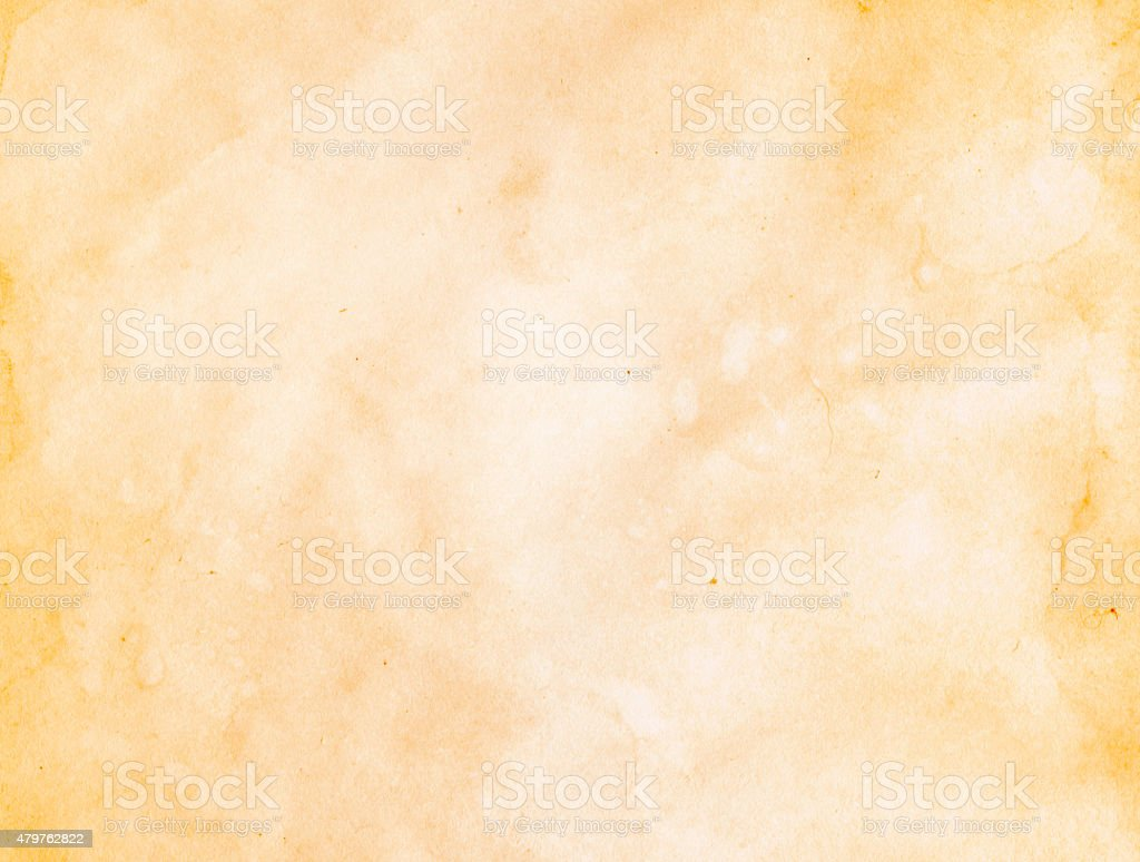 Dirty old paper texture. stock photo