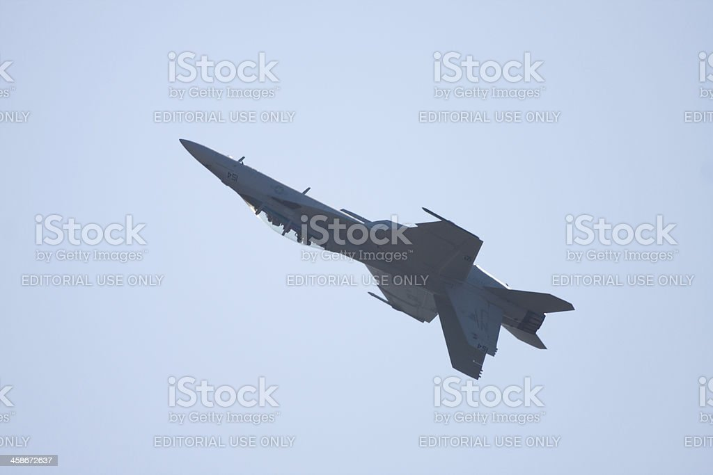 F-16 Dirty Pass royalty-free stock photo