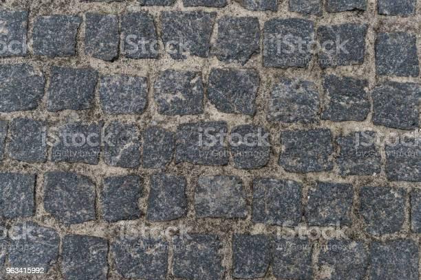 Brudne Kamienie Żwirowe Powierzchnia Drogi - zdjęcia stockowe i więcej obrazów Bez ludzi