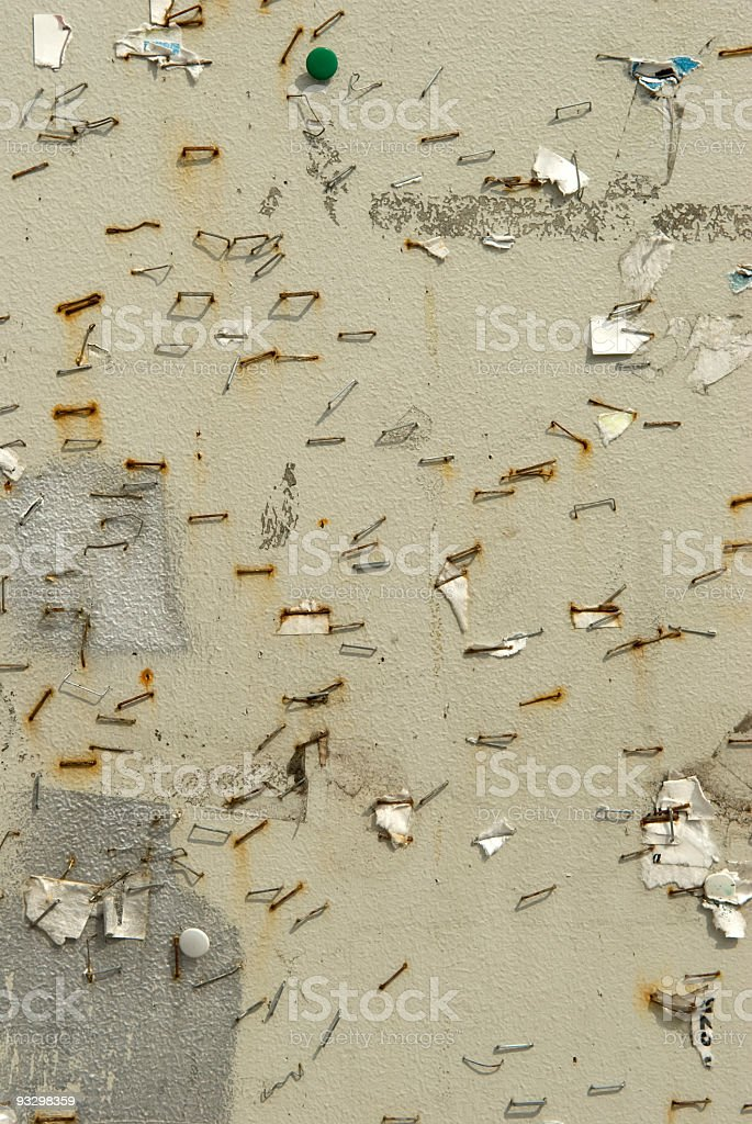 dirty posterboard royalty-free stock photo