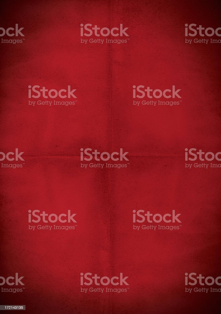 dirty red grunge poster royalty-free stock photo
