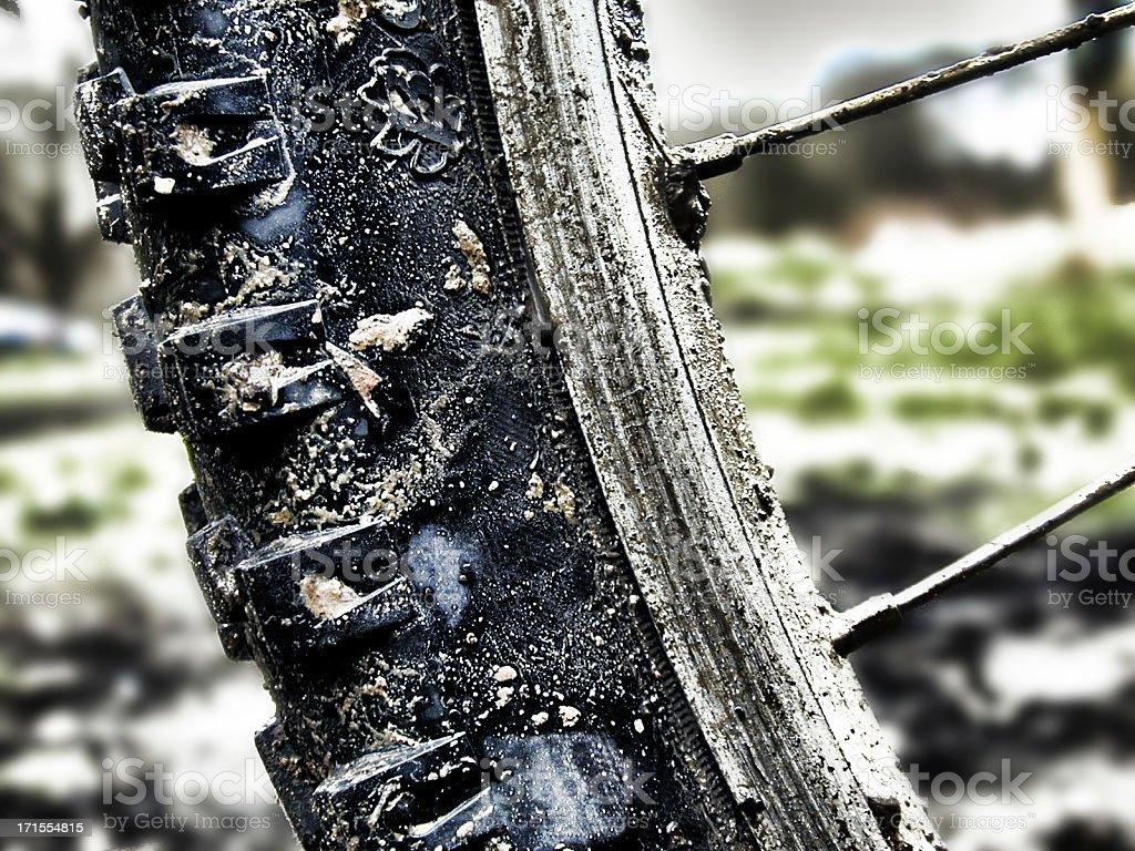 Dirty Rider 2 royalty-free stock photo