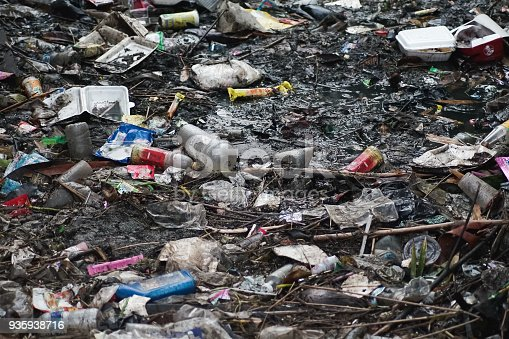 istock Dirty Rivers with Garbage 935938716