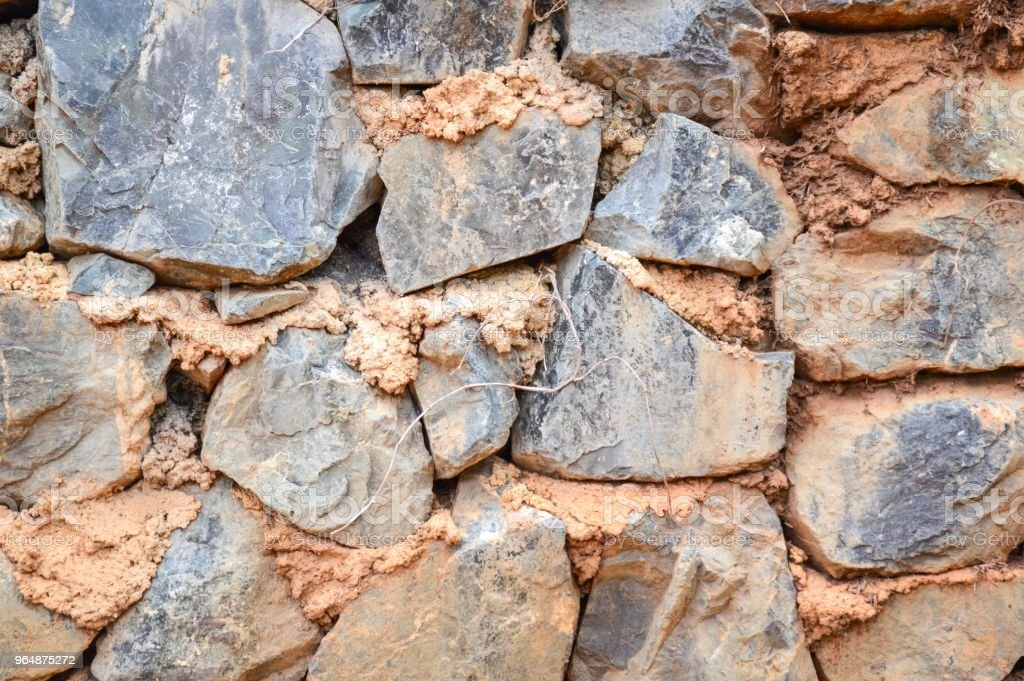 dirty rock wall texture royalty-free stock photo