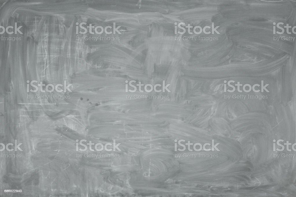 Dirty school board. Grey background. zbiór zdjęć royalty-free