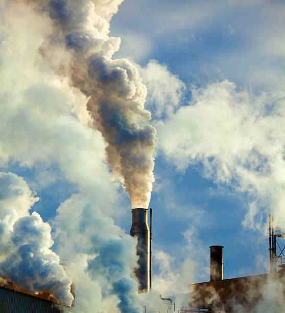 air pollution due to smoke belching