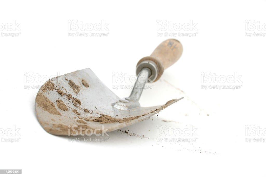 Dirty Spade royalty-free stock photo