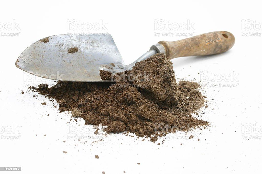 Dirty Spade (4) stock photo