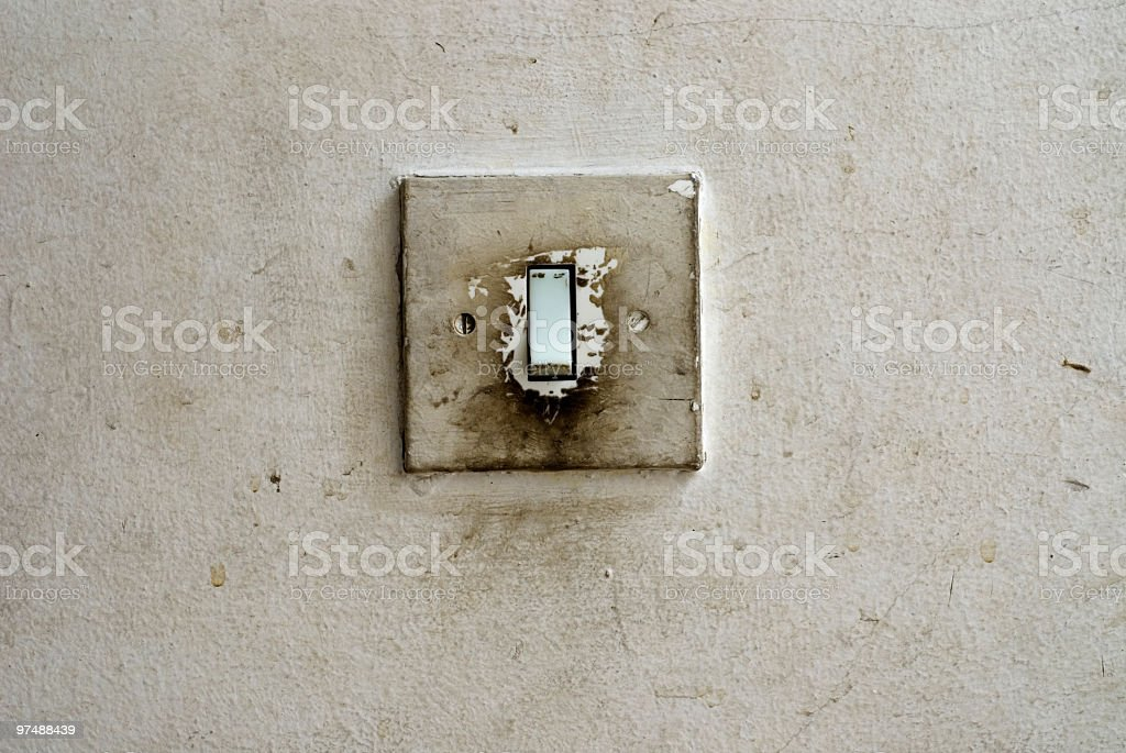 Dirty Switch royalty-free stock photo