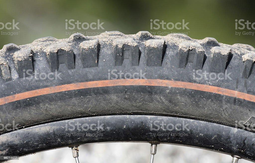 불결 타이어 royalty-free 스톡 사진