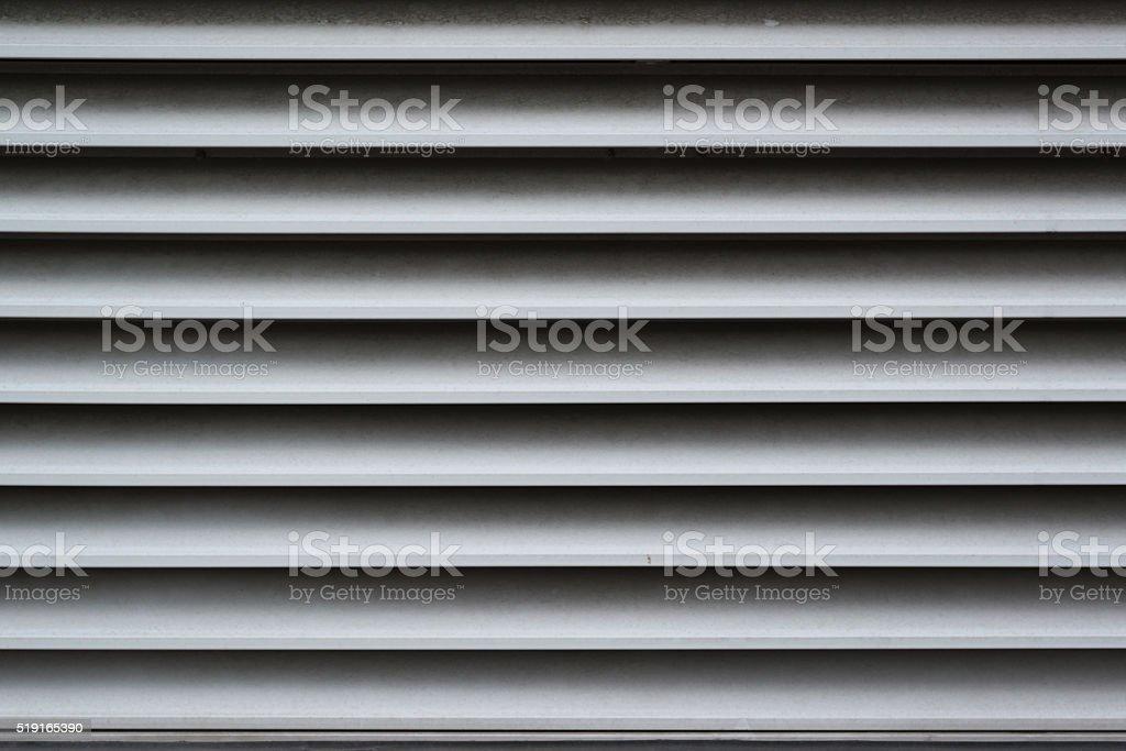 Dirty ventilation shaft close-up stock photo