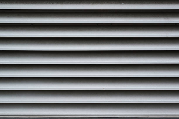 Sucio ventilación eje primer plano - foto de stock