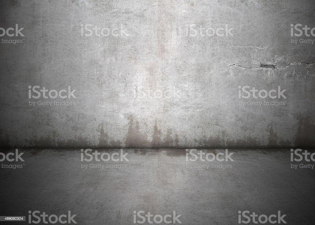 Dirty Wall Inside stock photo