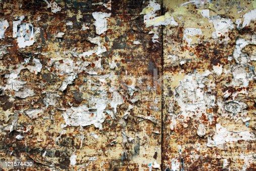 istock Dirty wall 121574430
