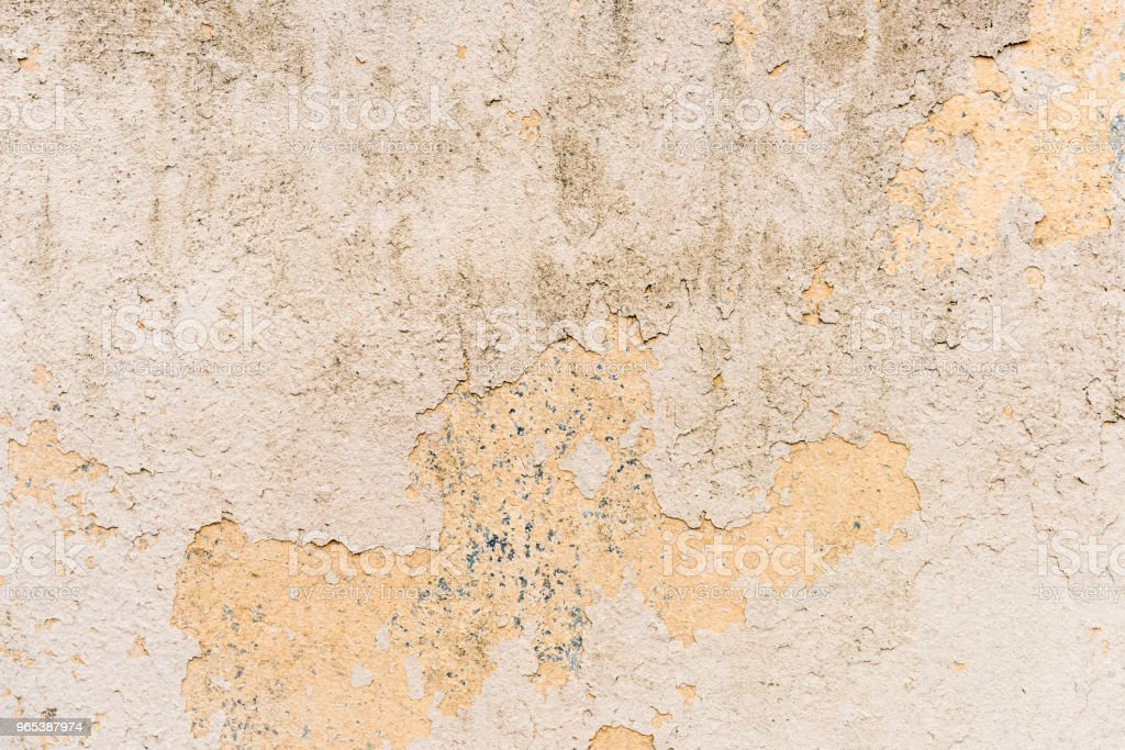 Dirty wall with old paint surface zbiór zdjęć royalty-free