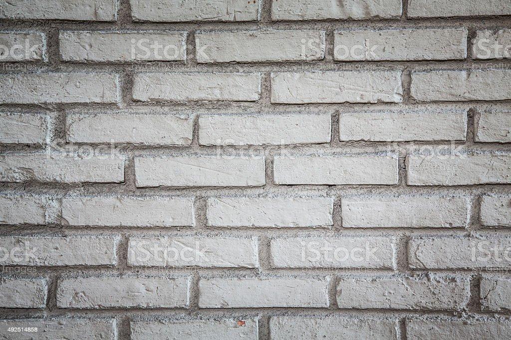 dirty white brick wall stock photo