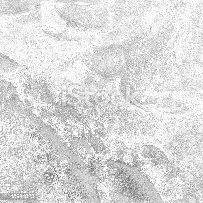 istock Dirty white stone texture and background 1145984823