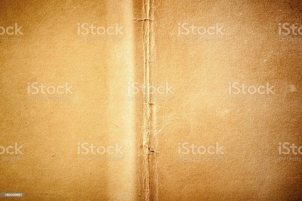 Dirty Worn Grunge Paper stock photo