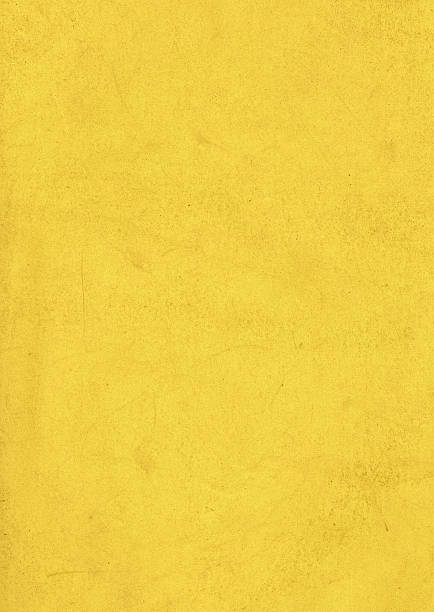 dirty yellow paper texture - yellow stock photos and pictures