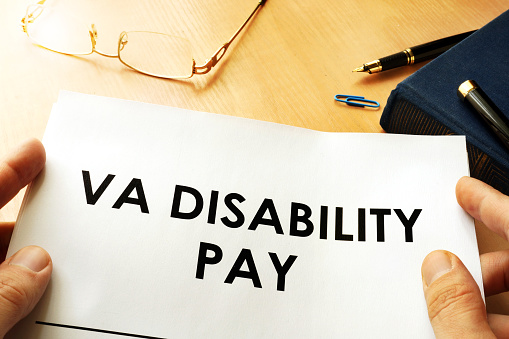Va Disability Pay Policy Veterans Compensation Benefits Concept Stock Photo Download Image Now