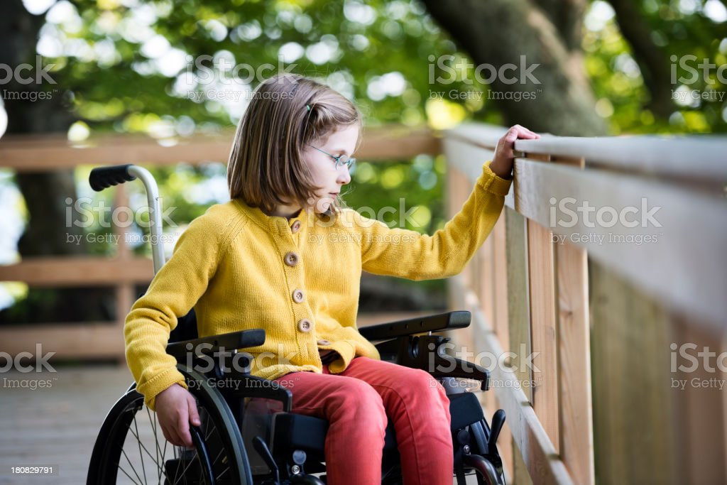 Disability royalty-free stock photo
