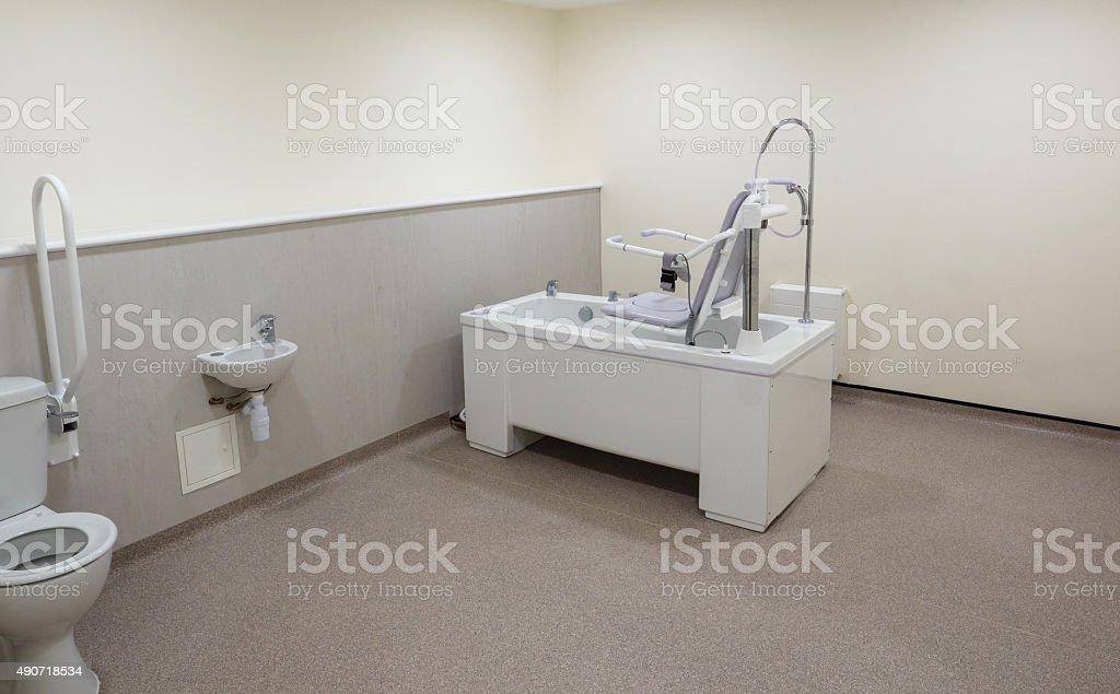 Disabled Bathroom stock photo