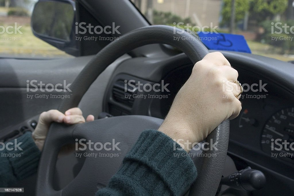 disabled car royalty-free stock photo