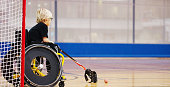 istock Disabled Child Playing as a Goalie 499779848
