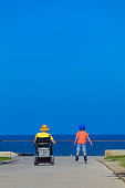 istock Disabled Father play with his little son 584779048