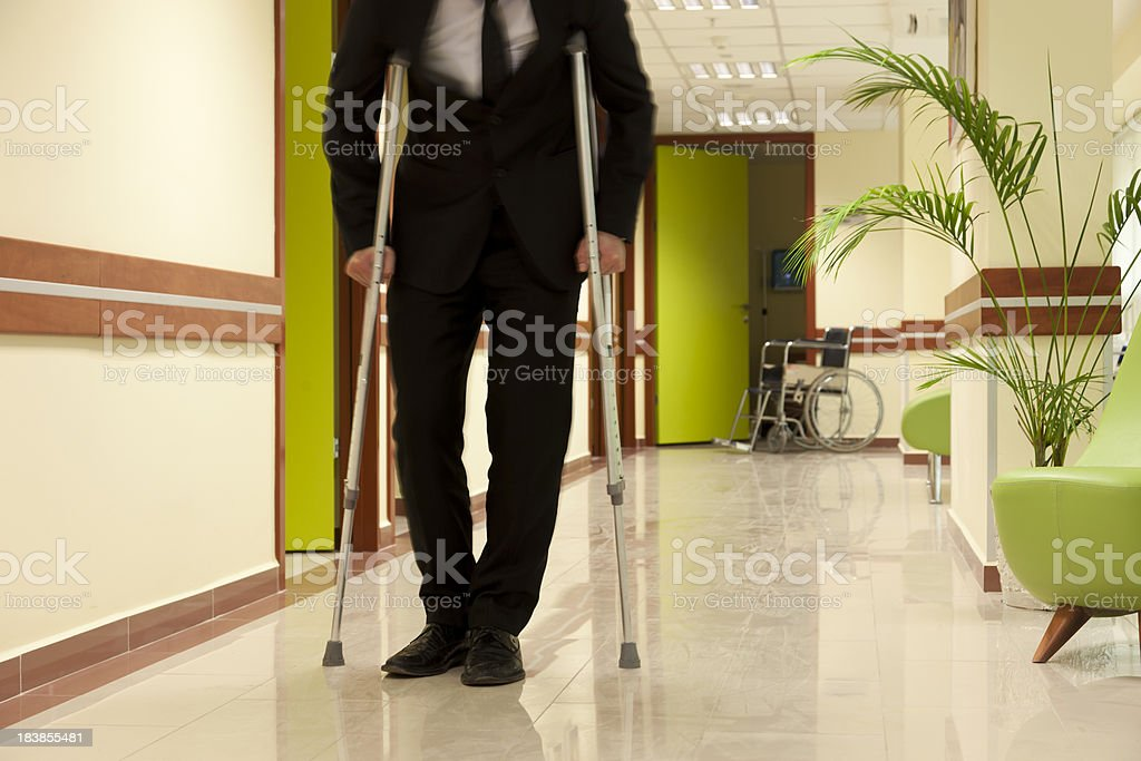 disabled men stock photo