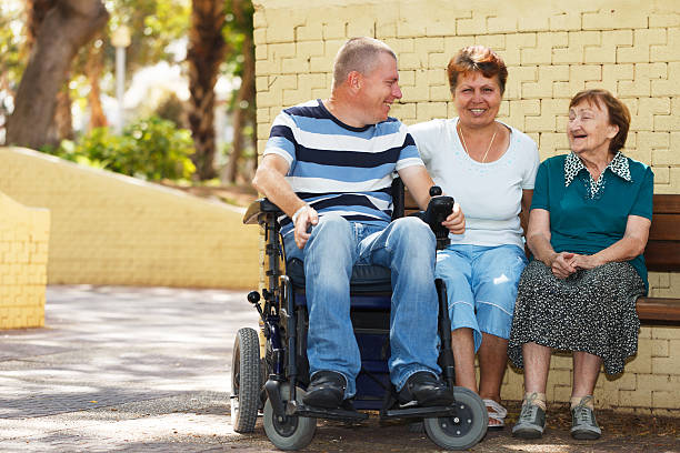 Disabled people community – Foto