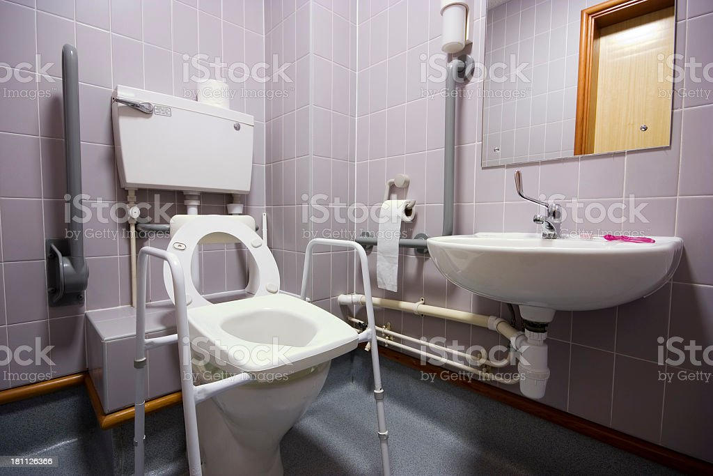 Behinderte Personen Badezimmer – Foto