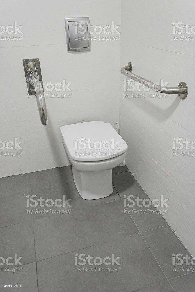 Barrierefreie Toilette – Foto