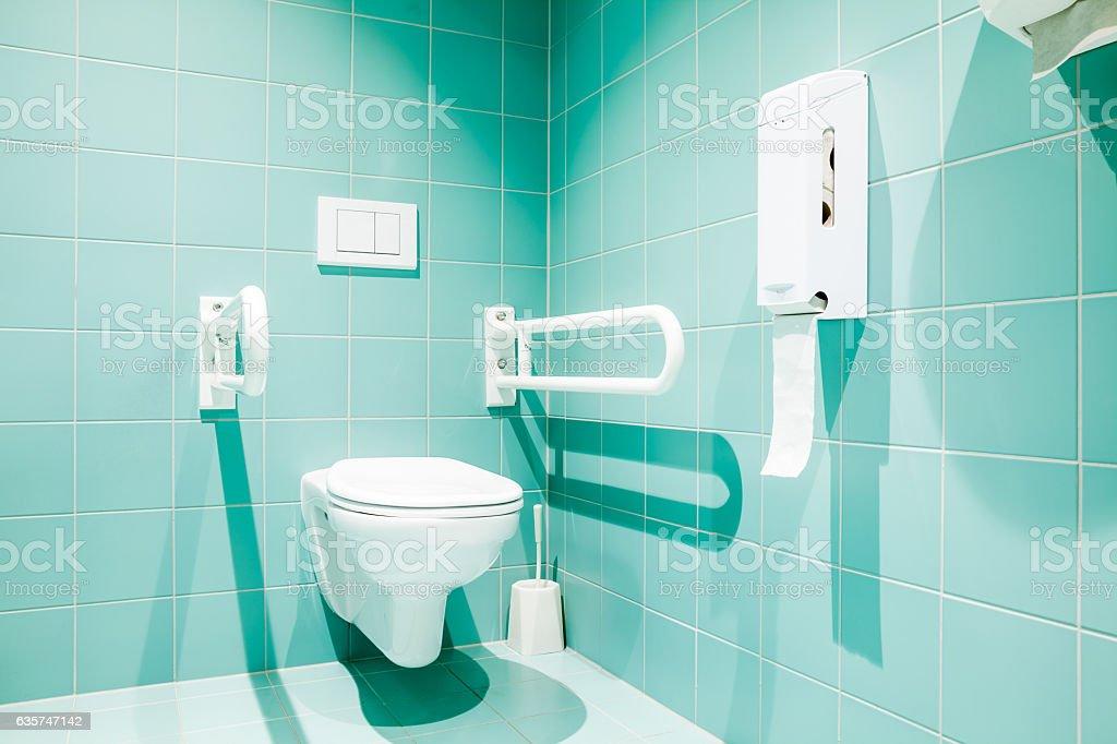 Disabled Toilet stock photo   iStock