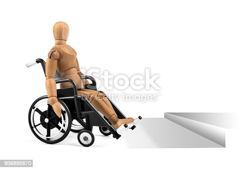 941792734istockphoto disabled wooden mannequin in wheelchair with barrier problems 936885670