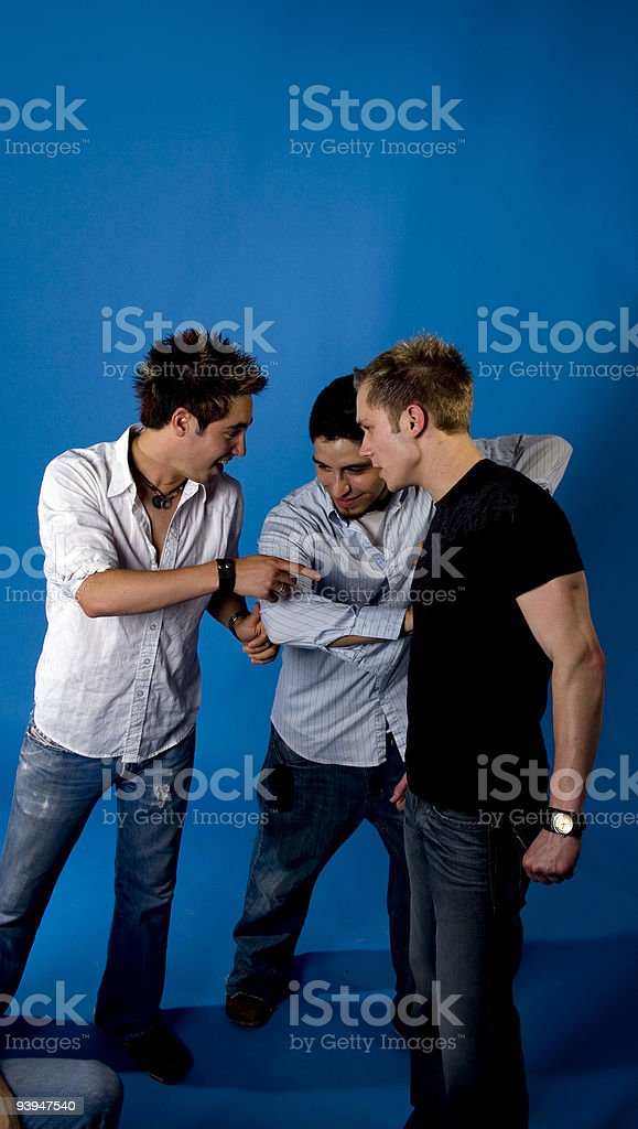 Disagreements royalty-free stock photo