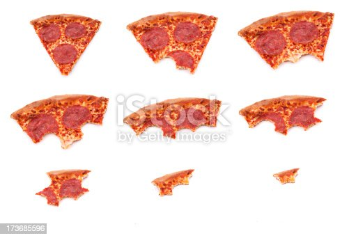 Picture of a slice of pizza being eaton.  http://www.thephoto.ca/temp/ist/lightbox/JustPizza1.jpg