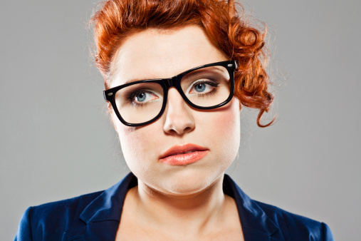 Disappointed Young Woman Stock Photo - Download Image Now