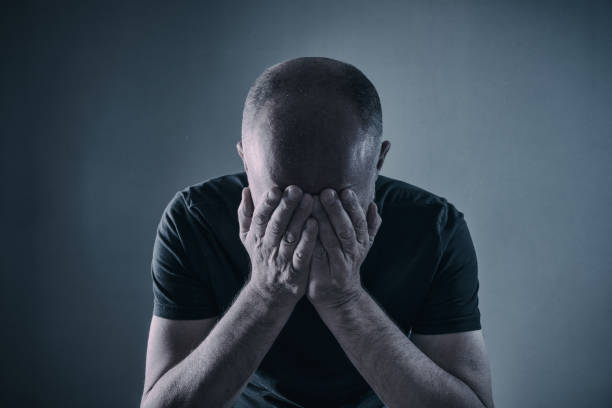 Disappointment or Depression stock photo