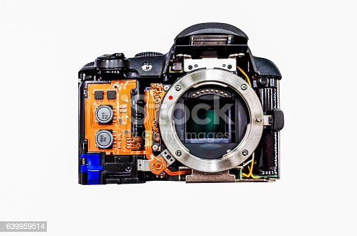 istock Disassembled Camera 639959514