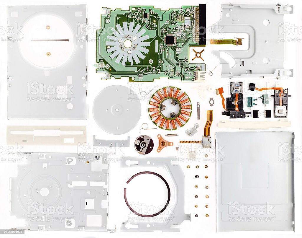 Disassembled Гибкий стоковое фото