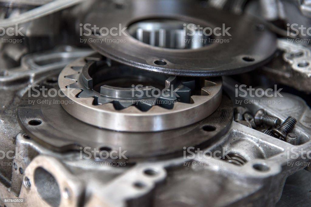Disassembled Mechanical Highpressure Diesel Pump Components