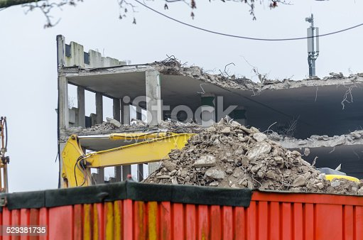 istock Disassembly Old parking House 529381735