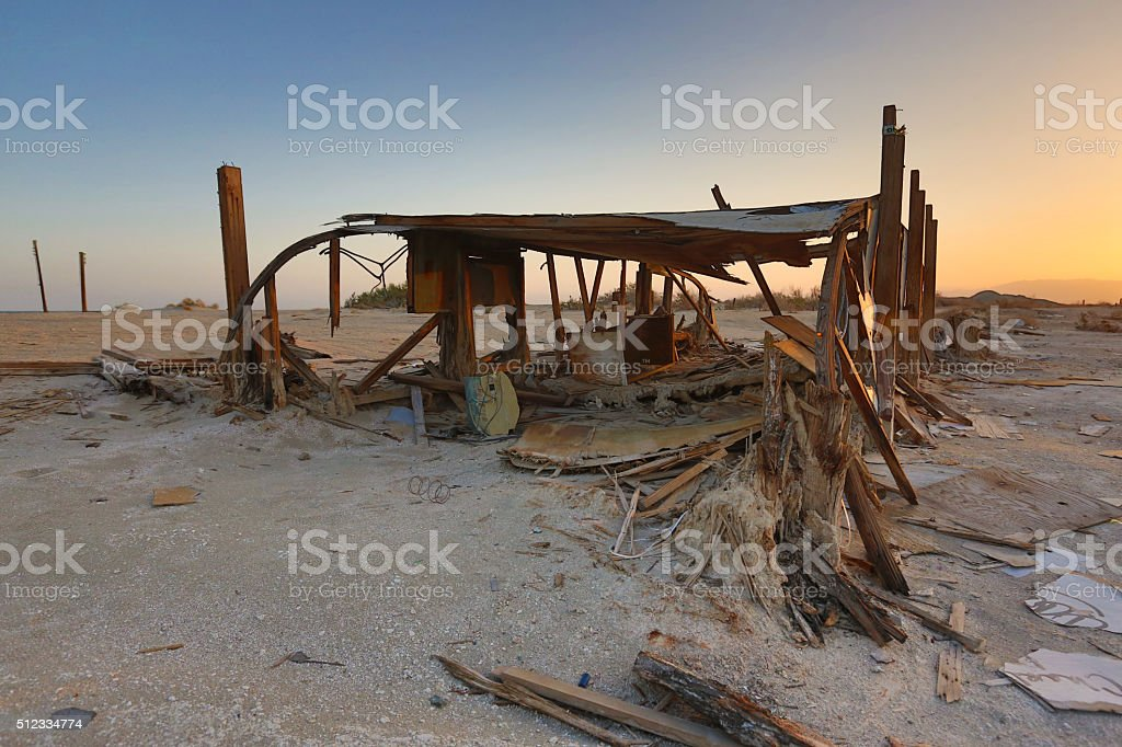 Disaster and Decay stock photo
